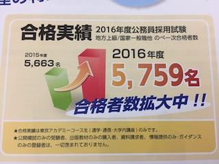 東京アカデミー合格実績